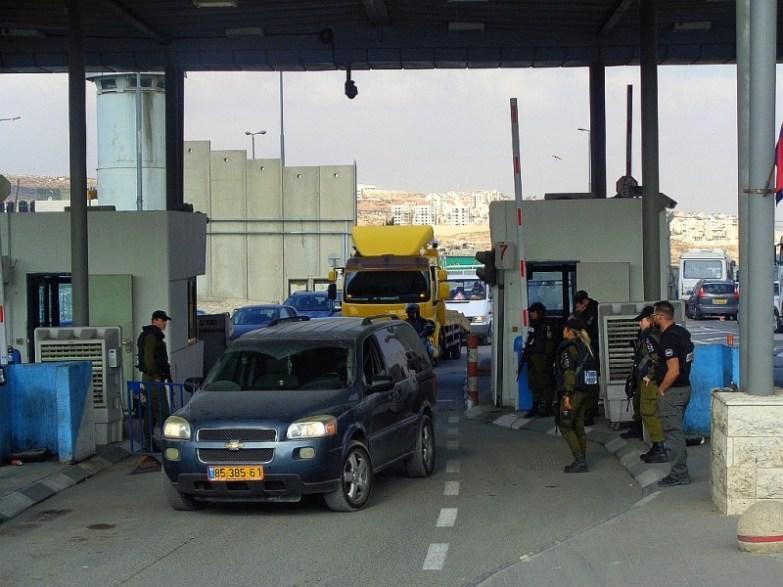 checkpoint w izraelu