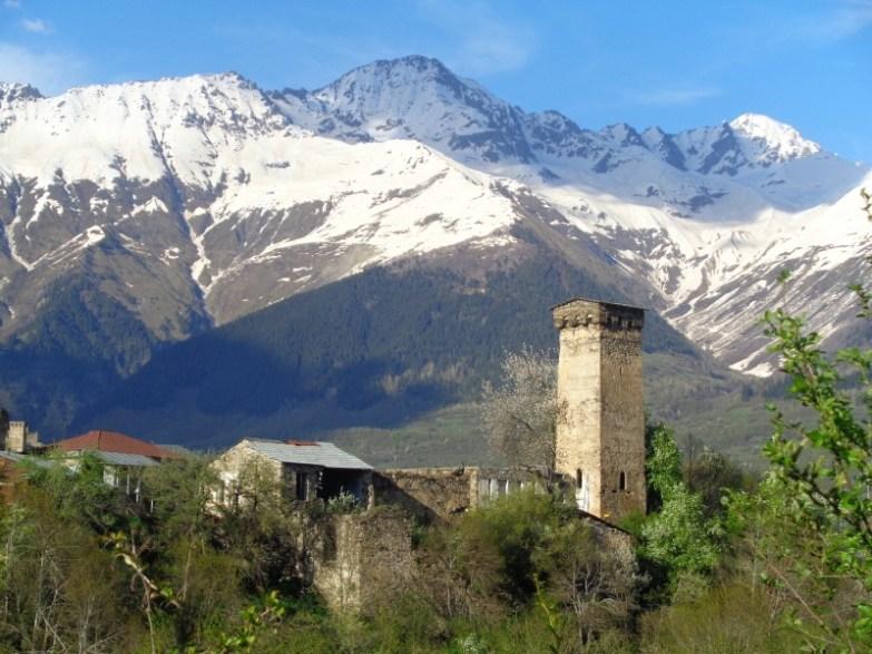 wieże swanetia