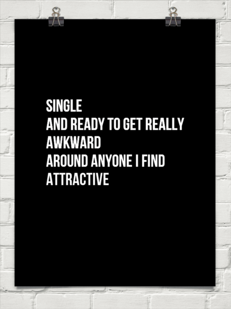single and awkward