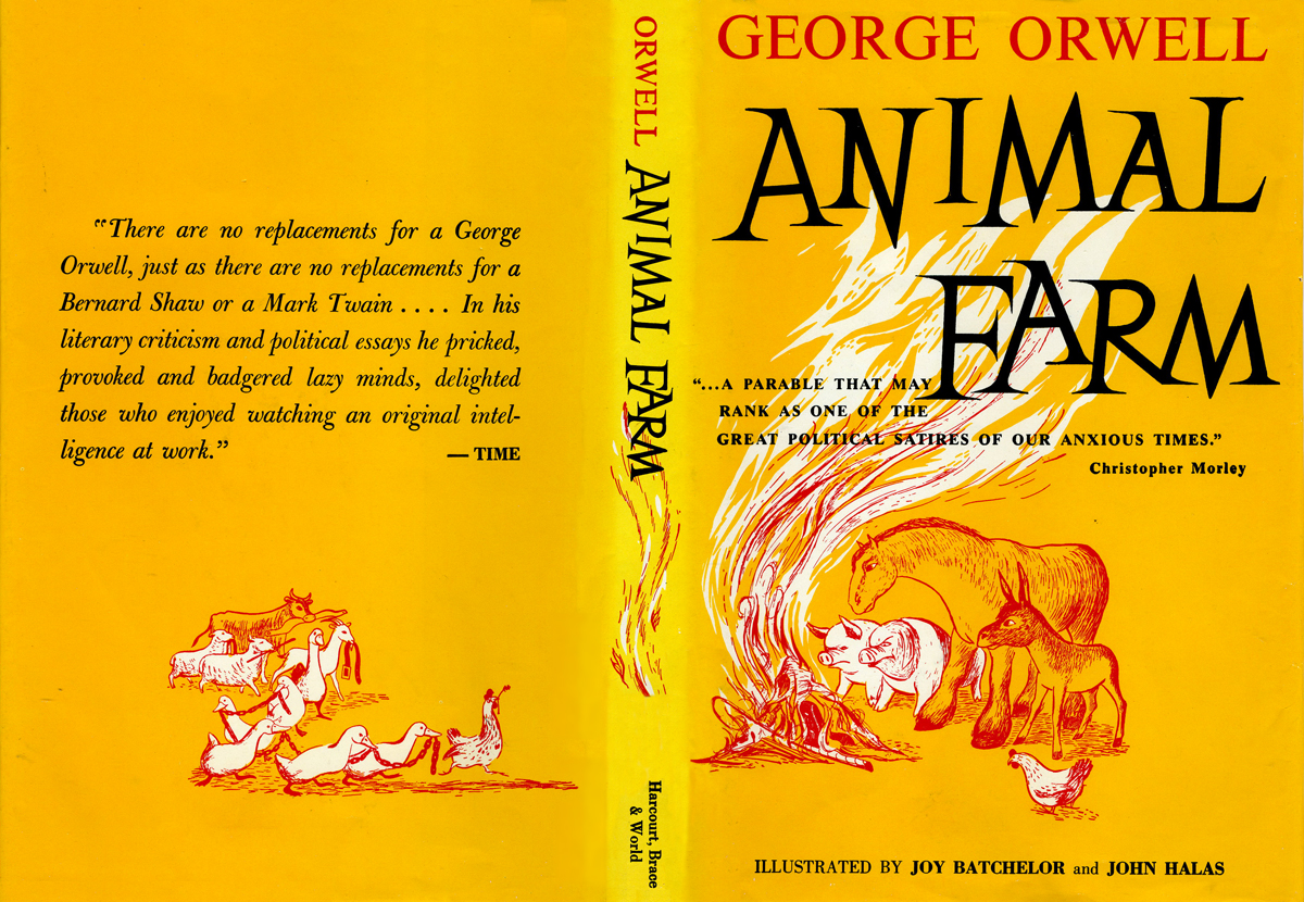 Why Did George Orwell Write Animal Farm  Essay About Science also Write A Good Thesis Statement For An Essay English Essay Ideas