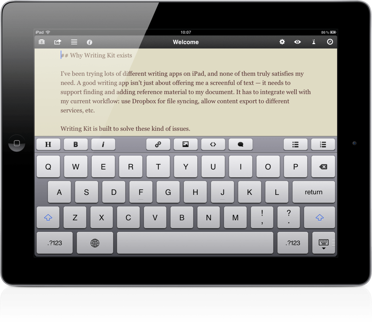 Use handwriting to input text on Android with MyScript Stylus