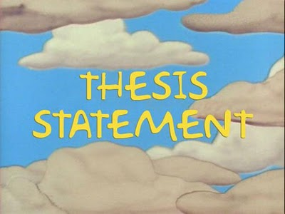 Thesis statement creationism vs evolution