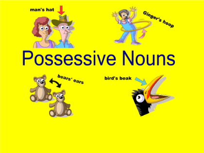 Image result for plural possessive nouns