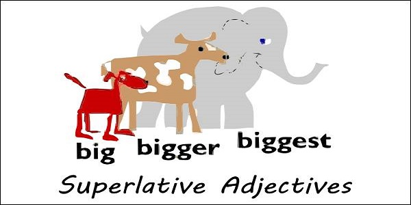 superlative adjectives with examples and rules for constructing them