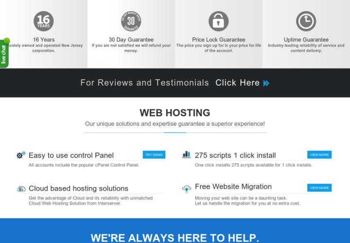 InterServer VPS Hosting Reviews 2017 UPDATE