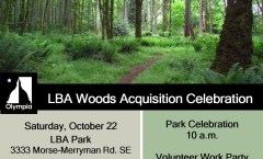 Ribbon Cutting Saturday in LBA Woods Park at 10