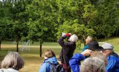 Birders Flock to the LBA Woods on Saturday