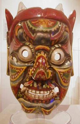 SDJA  Art  Masks From Around the World