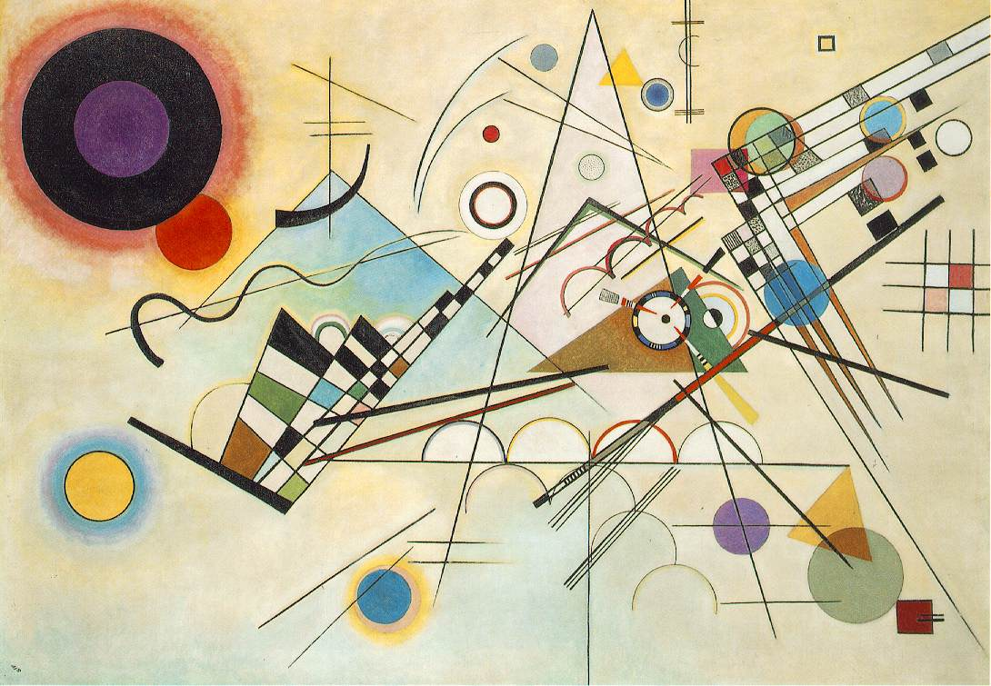 W. Kandisky - Composition VIII, 1923