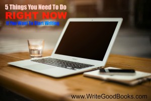This post is for the person who has always wanted to write but hasn't started yet.
