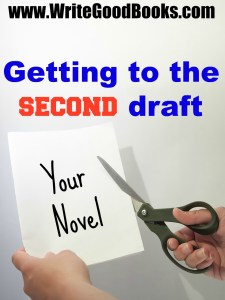 You finished the first draft of your novel. Now what? You've got to begin the grueling process of rewriting it. Here's how I'm going about it with my second novel.