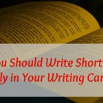 Why You Should Write Short Stories