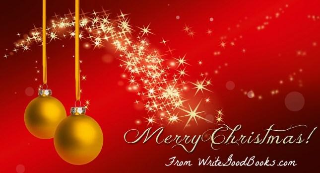 WriteGoodBooks.com wishes you a Merry Christmas!