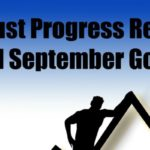 August Progress Report and September Goals (2016)