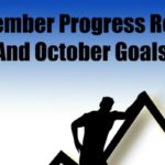 September Progress Report and October Goals (2016)