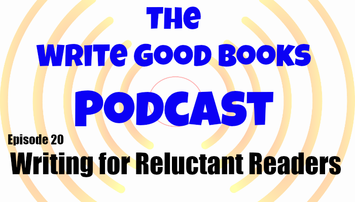 In this episode of The Write Good Books Podcast, Jason and Scott look at reluctant readers, and whether or not an author should persue the goal of bringing them in. In this episode of The Write Good Books Podcast, Jason and Scott look at reluctant readers, and whether or not an author should pursue the goal of bringing them in.