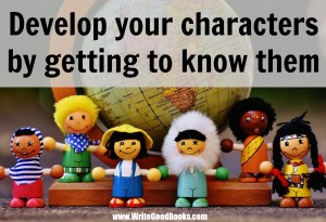 The best way to write a real character is to get to know them first.