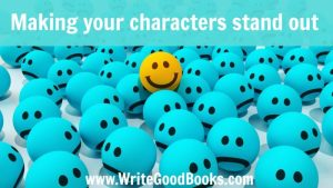 Making your characters stand out