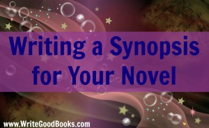 Writing a synopsis isn't easy, but it's a necessary step toward get published. Here are a few tips.