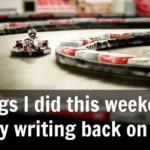 Three things I did this weekend to get my writing back on track