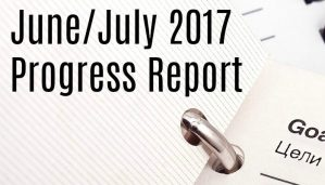 June/July Progress Report 2017