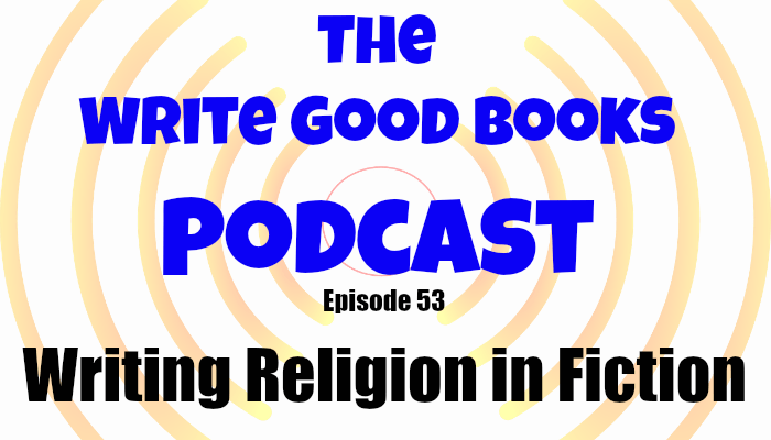In this episode of the Write Good Books Podcast, Jason and Scott discuss how to respectfully incorporate religion in the setting of your fictional world, and also how to use religion to further develop your characters.