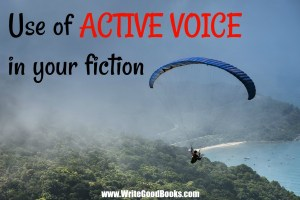 There are lots of rules in writing. Using Active instead of Passive verbs is one of them.