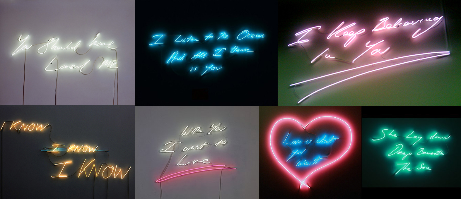 Tracey Emin's Neon Confessions – Creative Inspiration