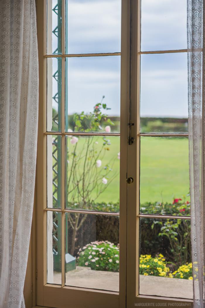highfield house, window, curtains, garden, stanley, tasmania