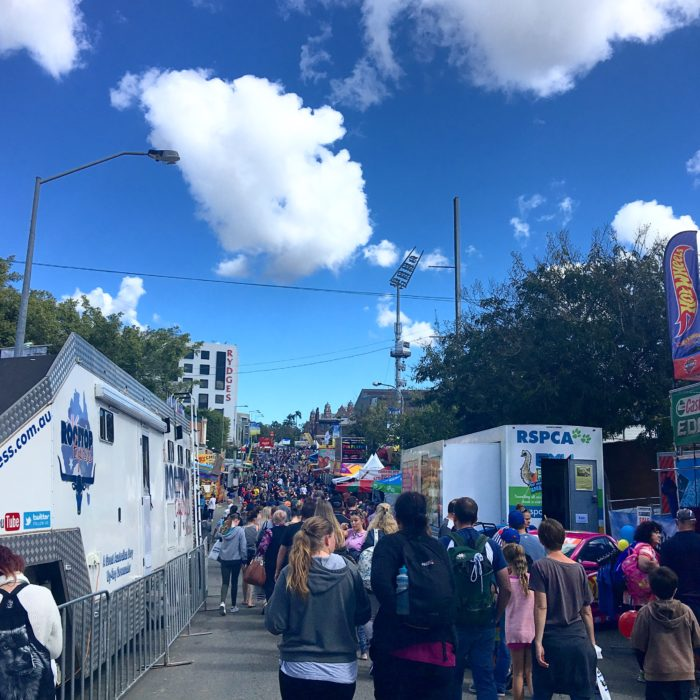 ekka, ekka 2016, brisbane show, crowds