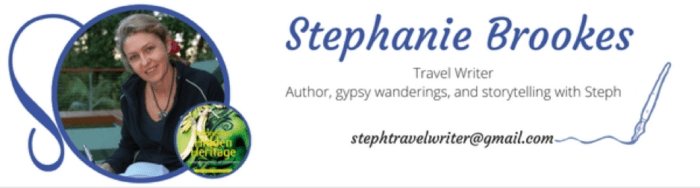 Travel Writer, Travel, Stephanie Brookes
