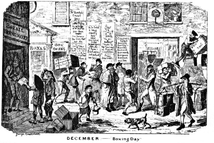history, tradition, boxing day, christmas