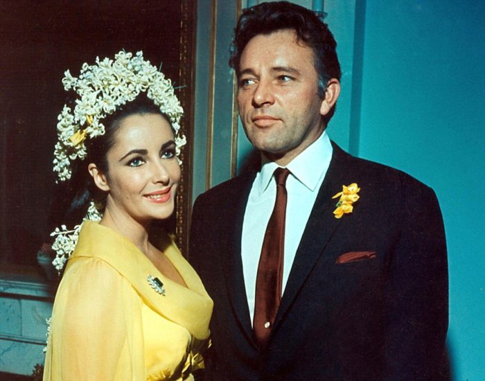 richard burton, elizabeth taylor, married, wed, 1964