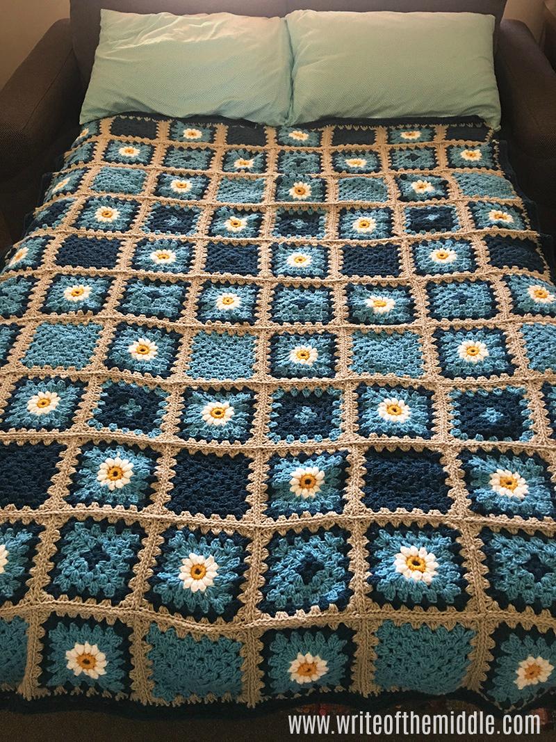 crochet blanket, crochet, granny squares,