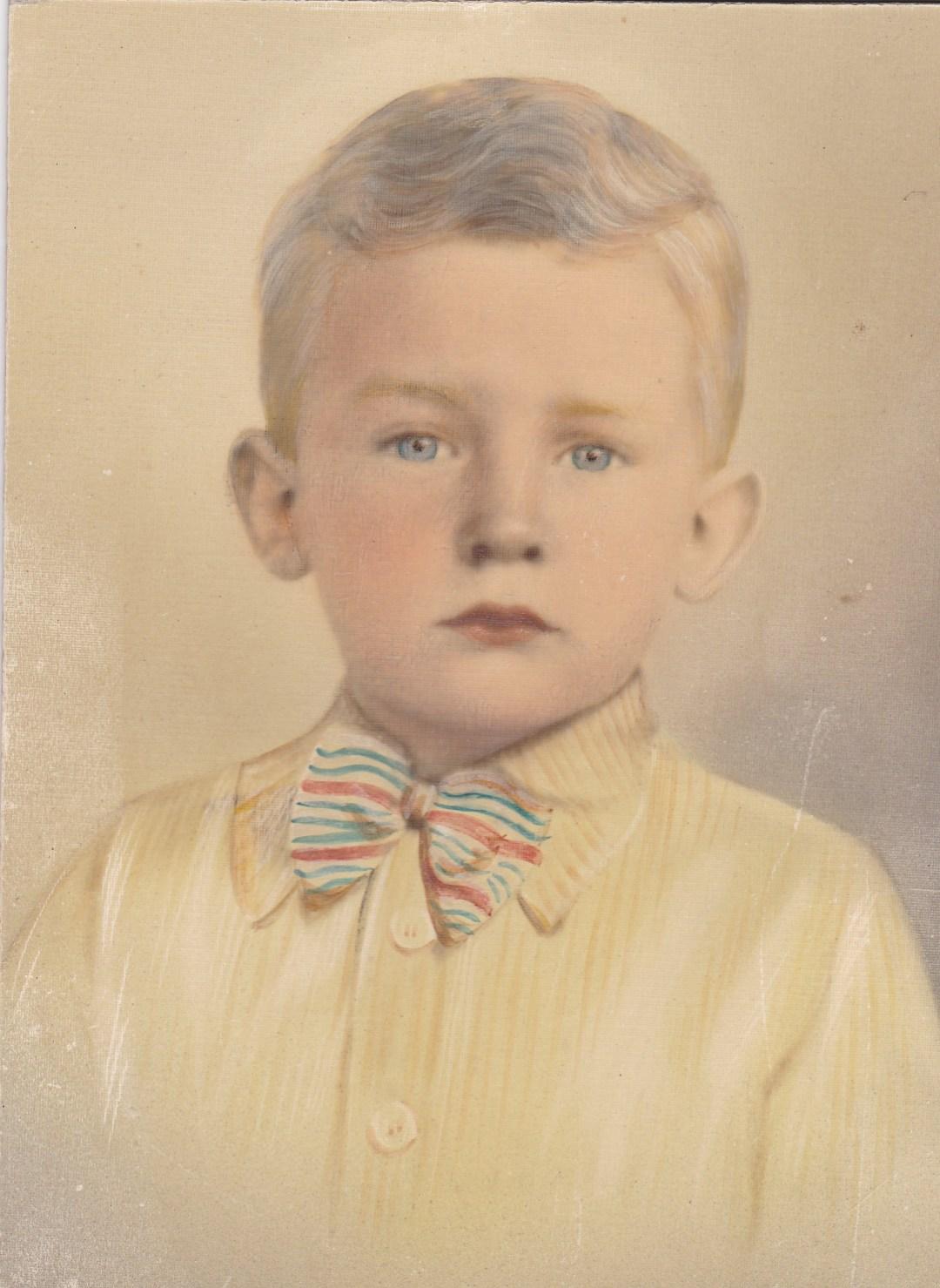 Dad, Boy, 1930's