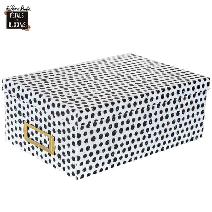 Scribbled Dot Photo Box