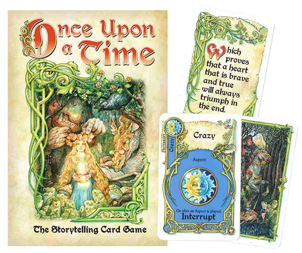 Once Upon a Time storytelling game -