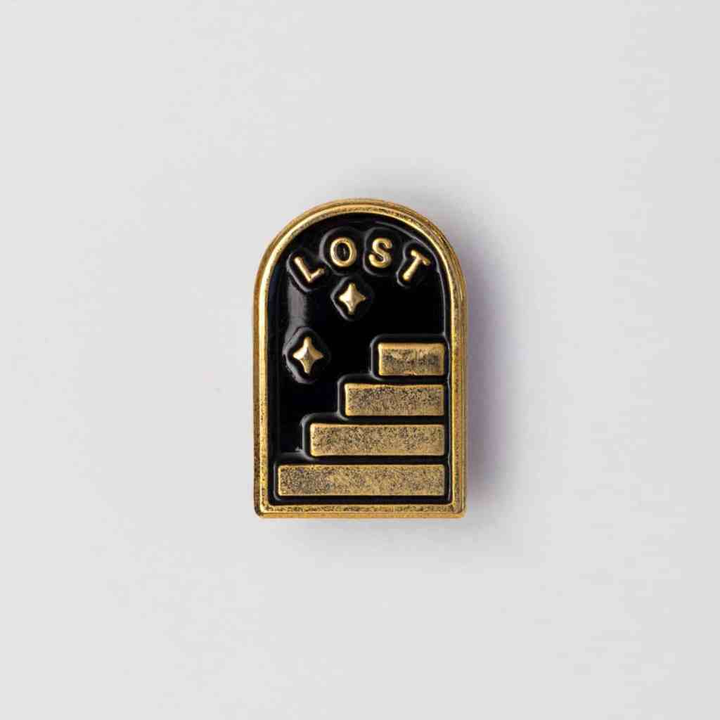 Lost Portal Enamel Pin