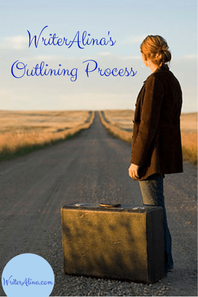 WriterAlina's Outling Process