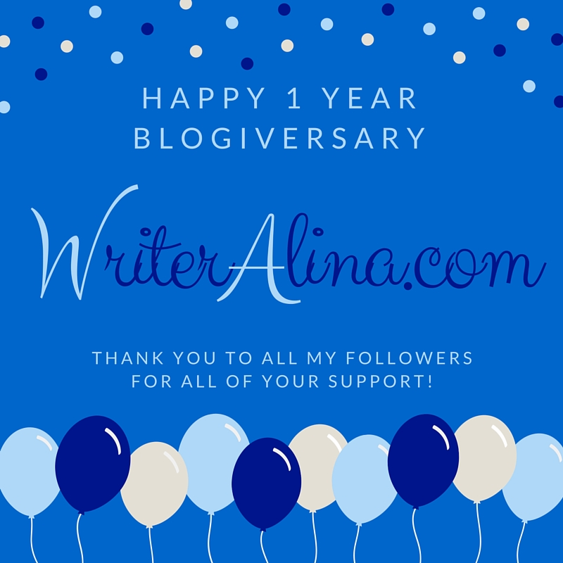 Happy Blogiversary 2016 WA