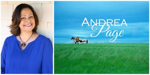 horses andrea page