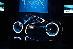 Who wouldn't want the Tron motorcycle?