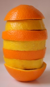 What to do with the problem of a lemon or an orange? You have to peel it.