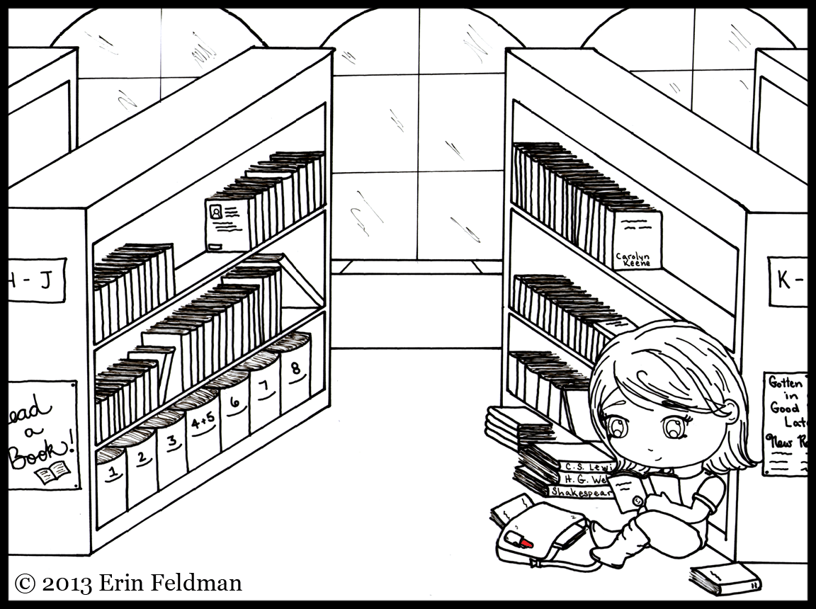 Write Right gets lost in the library.