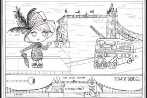 Write Right Tours London Bridge as a Fair Lady