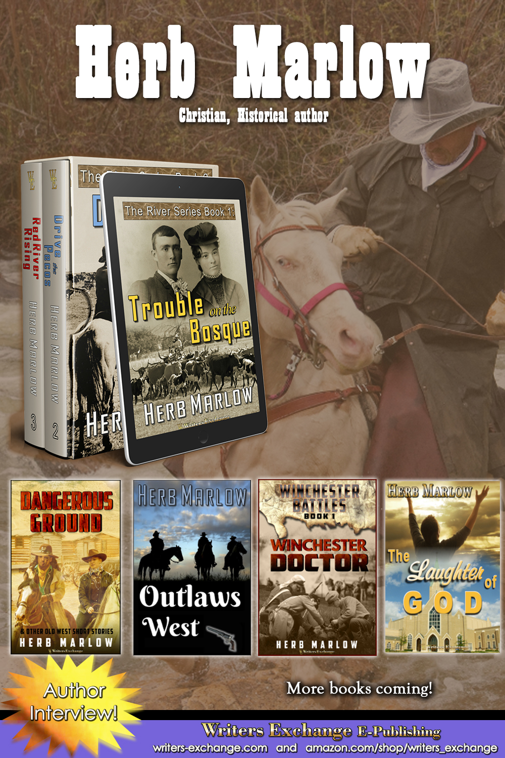 Herb Marlow Vertical Featured Author Image
