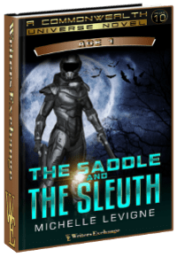 The Saddle and the Sleuth 3d cover