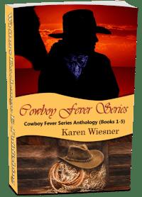 Cowboy Fever Series books 1 - 5 3d cover