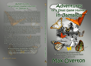 Adventures of a Small Game Hunter in Jamaica Print Cover