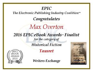Tausret EPPIE Historical Finalist 2016
